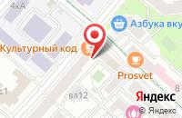 Схема проезда до компании Мастерпром в Москве