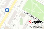 Схема проезда до компании БЕТОНСЕРВИС в Москве