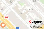 Схема проезда до компании ВЕЛЕССТРОЙ в Москве