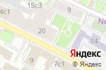 Схема проезда до компании Арбатские ворота в Москве