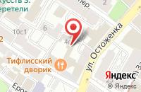 Схема проезда до компании Опора России в Москве