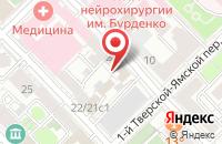 Схема проезда до компании Проминтех в Москве