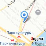 Kontato на карте Москвы