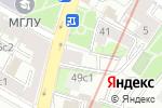 Схема проезда до компании На Остоженке в Москве