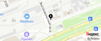 АвтоНьюТон на карте Москвы