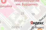 Схема проезда до компании Soundman в Москве