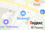 Схема проезда до компании Трендмоторс в Москве