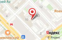 Схема проезда до компании Реклама Сервис в Москве