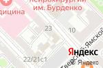 Схема проезда до компании Командировка 24 в Москве