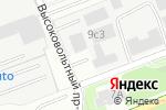 Схема проезда до компании АвтоНьюТон в Москве