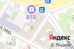 Схема проезда до компании Shapmakeup в Москве