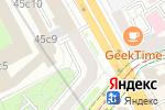 Схема проезда до компании Фрезия-Лайт в Москве