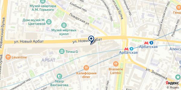 ПРОГРЕСС на карте Москве
