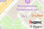Схема проезда до компании Все для SPA в Москве