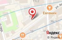 Схема проезда до компании Доноры Родины в Москве