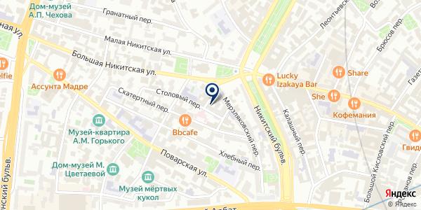 Ammerheim на карте Москве