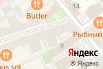 Схема проезда до компании Вenefactum в Москве