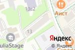 Схема проезда до компании Twins в Москве