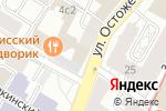 Схема проезда до компании КЕБУР ПАЛАС в Москве