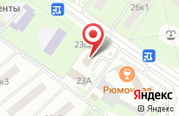 Схема проезда до компании Интер-Тес в Москве