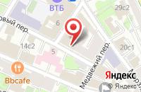 Схема проезда до компании Интернешнл Мьюзик Групп в Москве