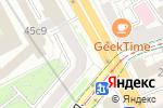 Схема проезда до компании Палантир в Москве