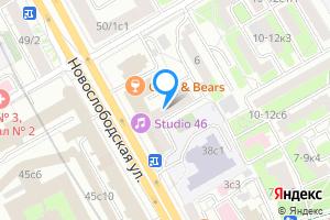 Двухкомнатная квартира в Москве Новослободская ул., 46
