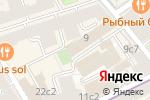 Схема проезда до компании Noveo в Москве