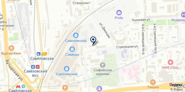 АПТЕЧНЫЙ СКЛАД № 1 на карте Москве