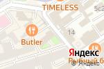 Схема проезда до компании Представительство Архангельской области при Правительстве РФ в Москве