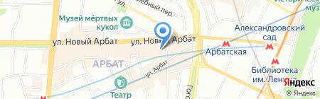 Туры от А до Я на карте Москвы