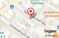 Схема проезда до компании Круиз-Св в Москве