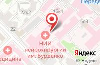 Схема проезда до компании Сипроен в Москве