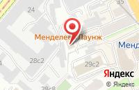 Схема проезда до компании Эримекс в Москве