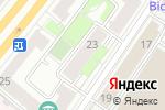 Схема проезда до компании Листель в Москве