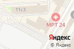 Схема проезда до компании Moresilver в Москве