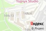 Схема проезда до компании Петровские Окна в Москве