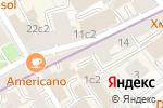 Схема проезда до компании La Pivoine в Москве