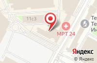 Схема проезда до компании Конвэкс Ком в Москве