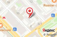 Схема проезда до компании Мед Энд А в Москве