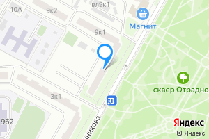 Однокомнатная квартира в Москве м. Отрадное, улица Санникова, 7