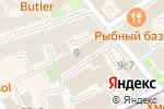 Схема проезда до компании Регистратор КРЦ в Москве