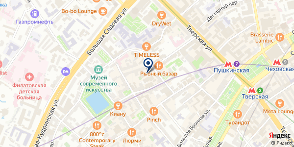 ПРЕДСТАВИТЕЛЬСТВО В МОСКВЕ ТФ BRISTOL-MYERS SQUIBB PRODUCTS S.A. на карте Москве