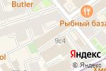 Схема проезда до компании Национальная лига управляющих в Москве
