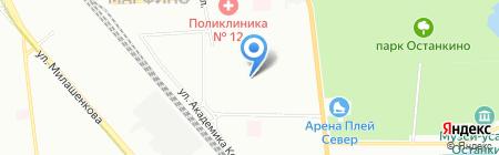 GSM-Ресурс на карте Москвы