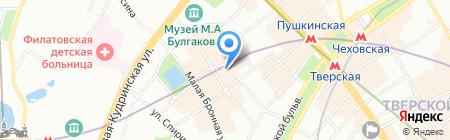 Столичный Правовой Центр на карте Москвы