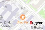 Схема проезда до компании Сырный Сомелье в Москве