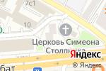 Схема проезда до компании ЮристАрх в Москве