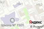 Схема проезда до компании Росэкспертиза в Москве