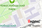 Схема проезда до компании СТАНКИН в Москве